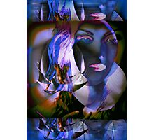6560b Orchid Goddess Photographic Print