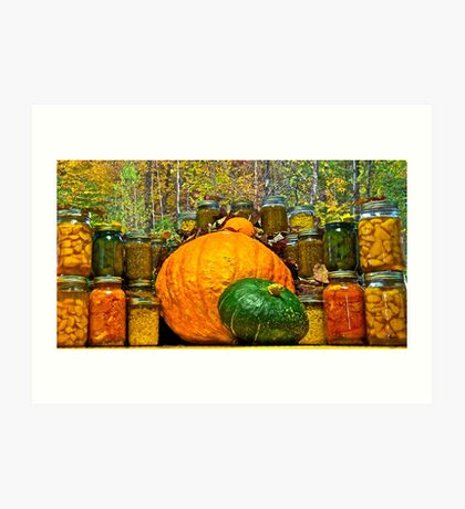 Autumn Treasures Art Print