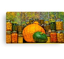 Autumn Treasures Canvas Print