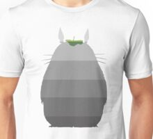 Leaf it to Totoro (linen white) Unisex T-Shirt