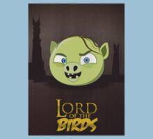 Lord of the Birds - Gollum Kids Tee