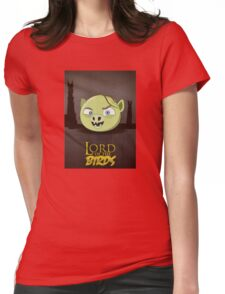 Lord of the Birds - Gollum Womens Fitted T-Shirt