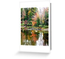 New England Autumn #1 Greeting Card