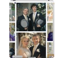 John and Mary Watson's Wedding Sherlock BBC   iPad Case/Skin