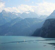Sailing Lake Lucerne by RFA-Photography