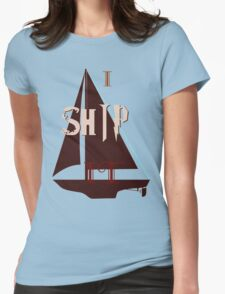 Shipping Shirt Womens Fitted T-Shirt