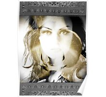 6570 Orchid Goddess Poster