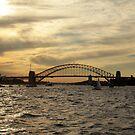 Sydney Harbour - Naval Celebrations by Kezzarama