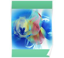 6572i  Orchid Goddess  Poster