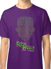 The Fresh Prince of Bel-Air  Classic T-Shirt