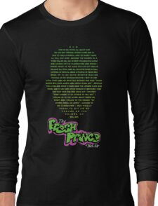 The Fresh Prince of Bel-Air  Long Sleeve T-Shirt