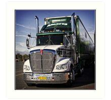 Truck Art Print