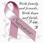 Breast Cancer Survivor by magiktees