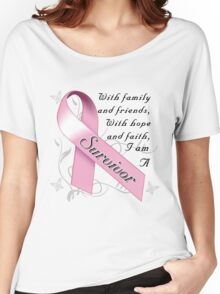 Breast Cancer Survivor Women's Relaxed Fit T-Shirt