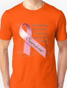 Breast Cancer Survivor Unisex T-Shirt