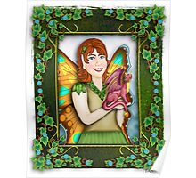 A Fairy and Her Dragon Poster