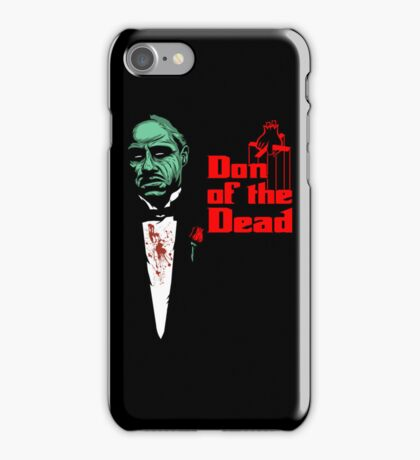 Don of the Dead iPhone Case/Skin