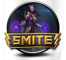 Smite Hel Logo Poster