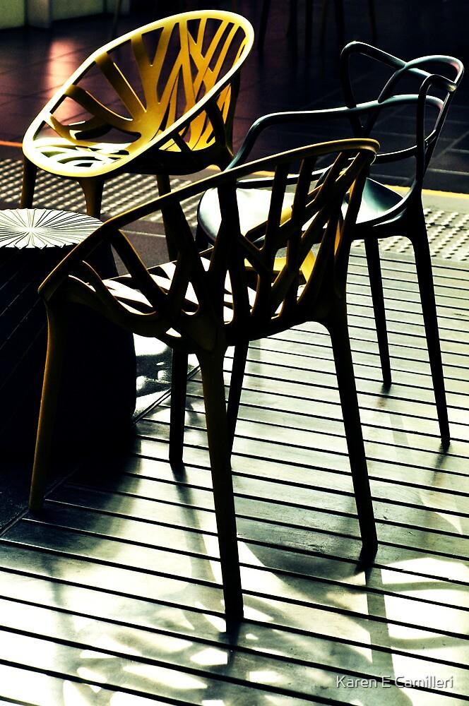 Seating Arrangement by Karen E Camilleri