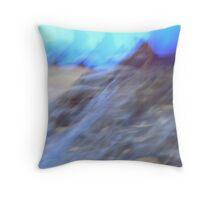 Pinnacles, Nambung, Western Australia Throw Pillow