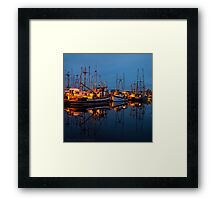 Calm Before the Dawn Framed Print