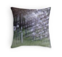 The Paulownias, late afternoon, Beermullah, Western Australia Throw Pillow