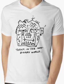 Non-Binary Mens V-Neck T-Shirt