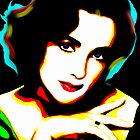 Elizabeth Taylor - Timeless Beauty - Pop Art by wcsmack