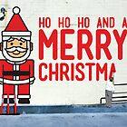 Virtual Christmas Graffiti, Italian Club, Hobart Tasmania by samedog