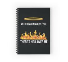 Pierce The Veil hell above merch Spiral Notebook