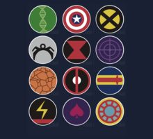 Marvel Heroes by dobbinn