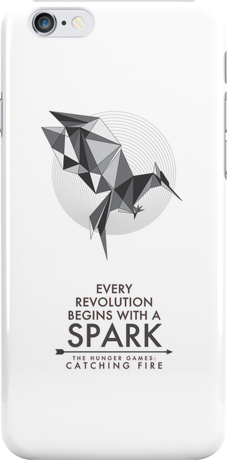 Catching Fire - Every revolution begins with a Spark BW by spacegirl19
