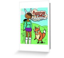 Adventure Time! Greeting Card