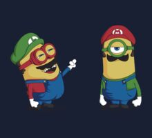 Super Minion Bros by Donnie Illustration