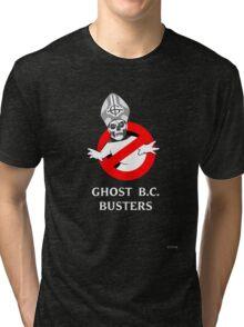 Who you gonna call? Papa Emeritus! Tri-blend T-Shirt