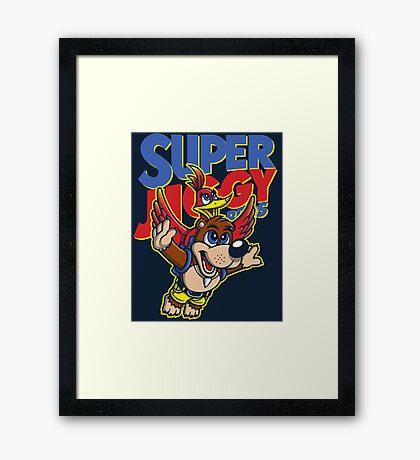Super Jiggy Bros Framed Print