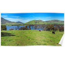 Hume Wier - Tallangatta Valley Poster