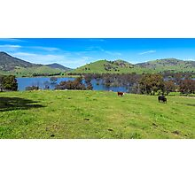 Hume Wier - Tallangatta Valley Photographic Print