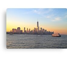 One World Trade Center (aka Freedom Tower) Canvas Print