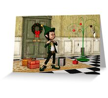 The Christmas Elf Greeting Card