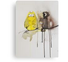 Hoot With Me Canvas Print