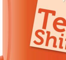 Tea Shirt Sticker