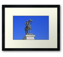 Ulysses S. Grant Guards The United States Capitol Framed Print
