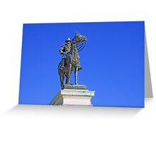 Ulysses S. Grant Guards The United States Capitol Greeting Card
