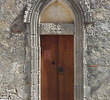 11th cent. Church Door - Thronos by Francis Drake