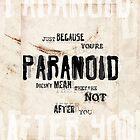 Paranoid by GivenToArt
