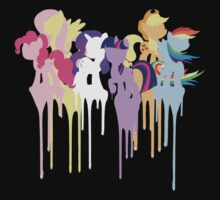 My Little Pony: Mane 6 by Clara Hollins