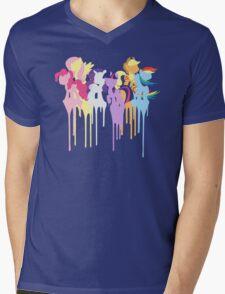My Little Pony: Mane 6 Mens V-Neck T-Shirt