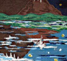 Mountain Lake Sticker