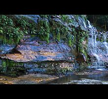 Katoomba Falls Second Tier by mspfoto